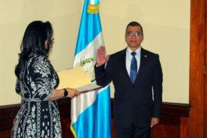 Juramentación General Edgar Soto